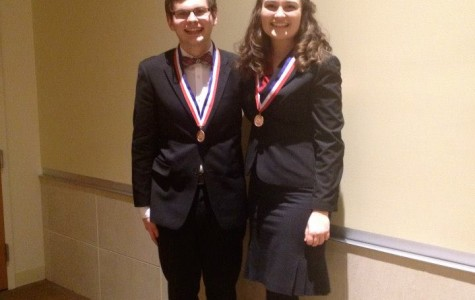 Speech team members place at state