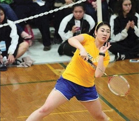 Girls badminton takes third place at state