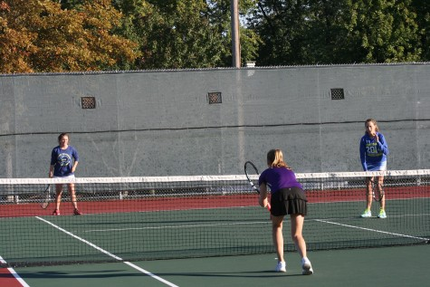 Girls tennis dominates