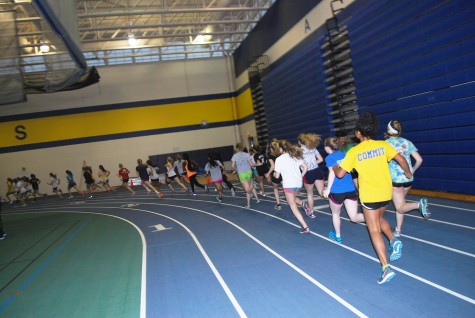 Girls Track hope to use enthusiasm, winter practices to flourish