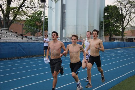 Boys track runs down state title