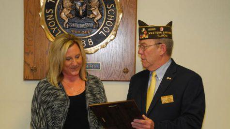 Teacher receives honor