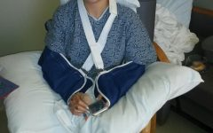 Student recovers from car crash