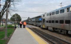 Woman struck by passenger train in La Grange