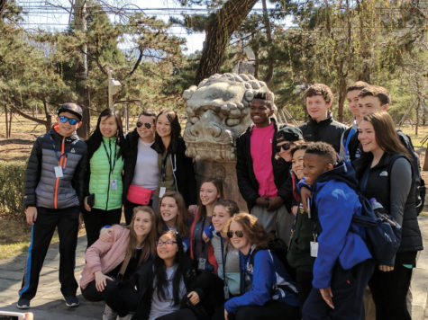 Chinese class travels to China as last year approaching
