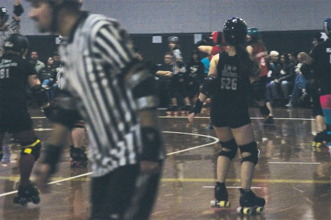 LT senior discovers roller derby