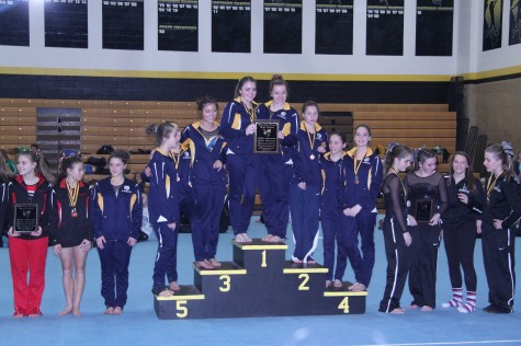 Gymnastics starts season off strong with first win