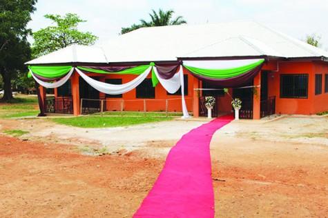 Alum opens education center in Ghana