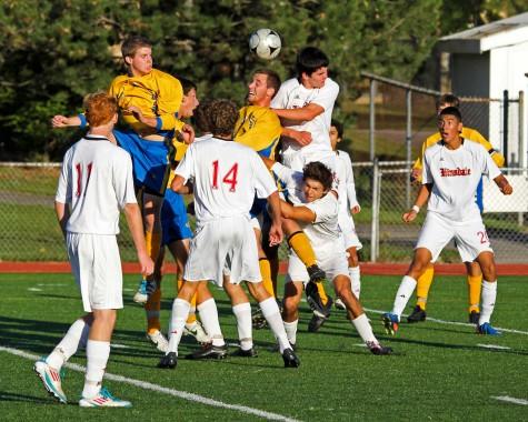 LT soccer at Hinsdale Central (2012)