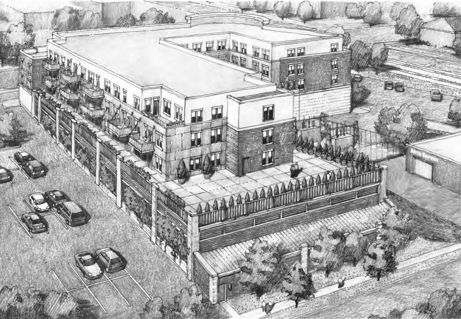 Plan sparks controversy lion newspaper proposedapartmentcomplexblueprint malvernweather Images