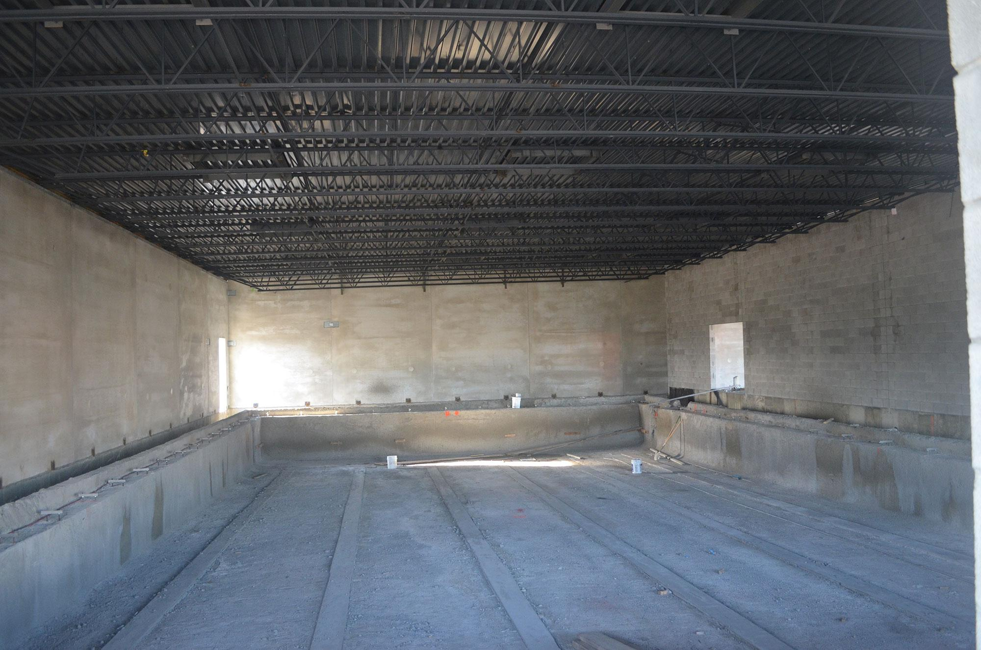 Inside new MAX facility