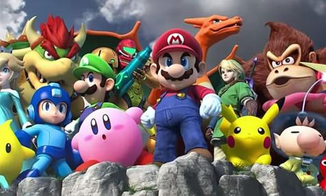 Student contends in Super Smash Bros.