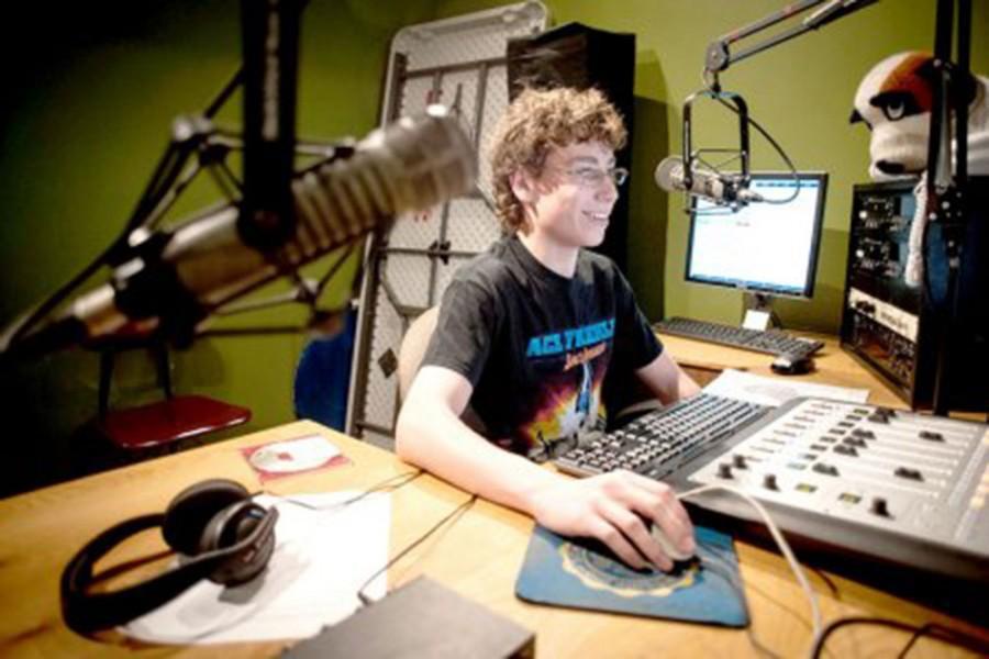 Brandon Herman working on his Live Aid program (mysuburbanlife.com)
