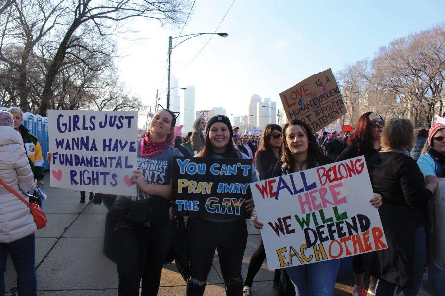 Photos+taken+by+Greta+Markey+at+the+Chicago+Women%27s+March.