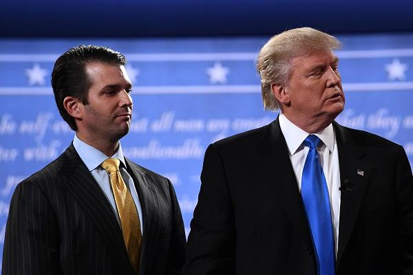 Trump son met with Russian lawyer who claimed to have