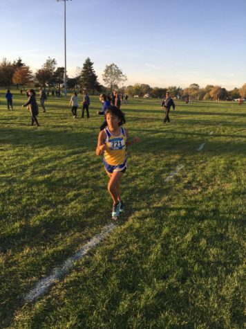 Student showcases strength, courage in cross country