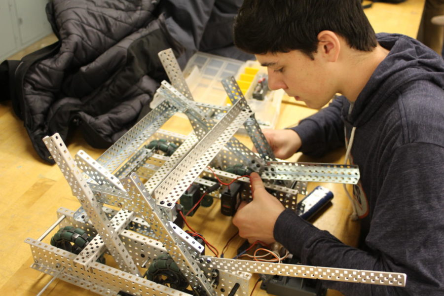 Robotics Club gears up for competitions