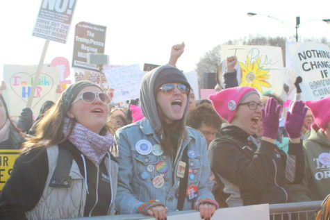 Second Women's March in Chicago draws LT students, 300,000 protesters