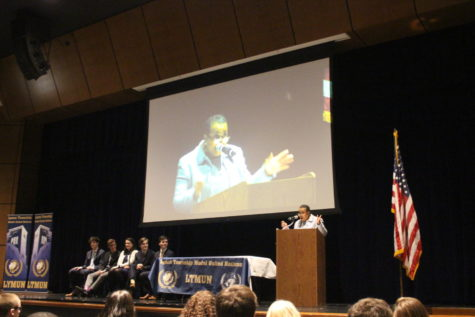 Diplomat, activist speaks at LYMUN conference