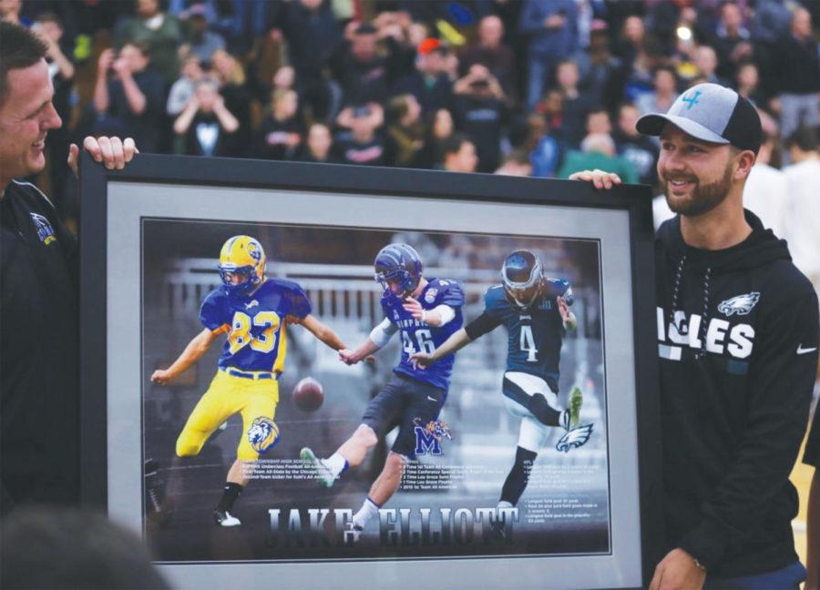 reputable site aaf75 fcaea LT alumnus wins Super Bowl, inspires charity   LION Newspaper