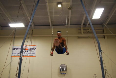 Boys' gymnastics trains for comeback