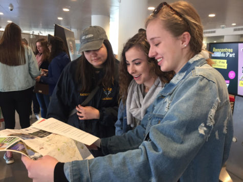 Exchange exposes LT students to French culture and schools