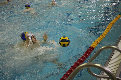 Boys' waterpolo aims for state