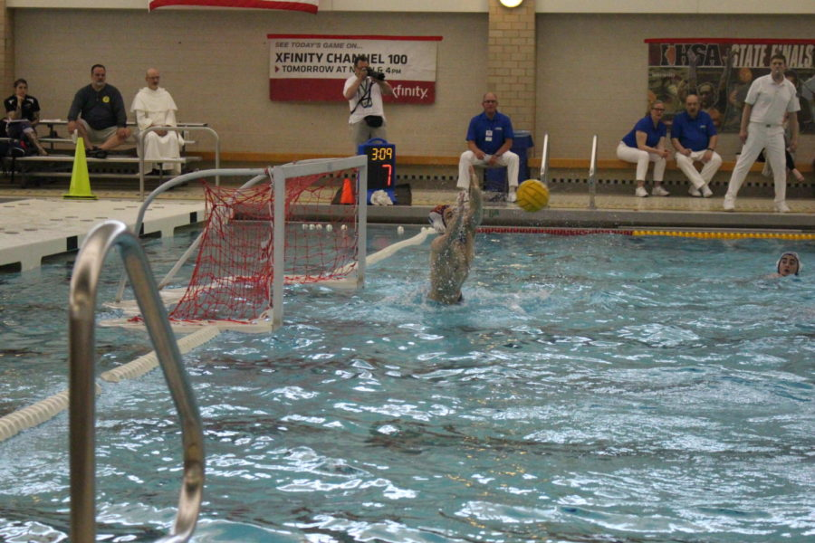 Water+polo+puts+in+work+at+state+tournament