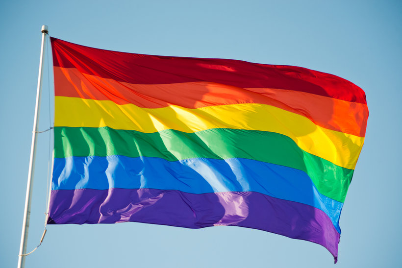 A gay pride flag in San Francisco, California. (Yellowhammer News)