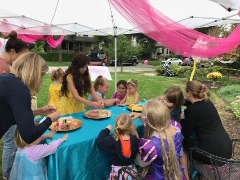 Family hosts parties for charity