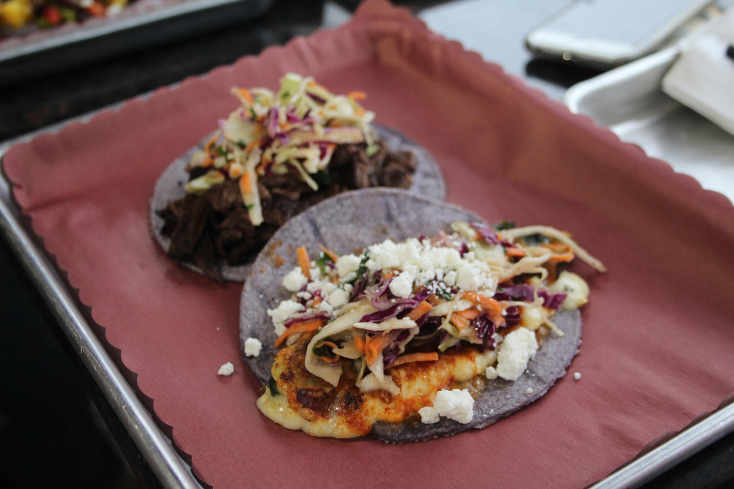 A taco sold at Altiro, a Latin fusion restaurant in the heart of downtown LaGrange. (Voytovich/LION)