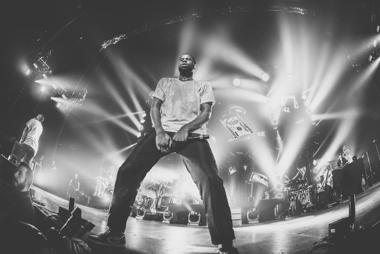 ASAP Rocky preforms at a concert in 2015. (Kmeron/Flickr)