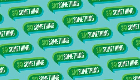 Say Something Week urges LT to report potential violence
