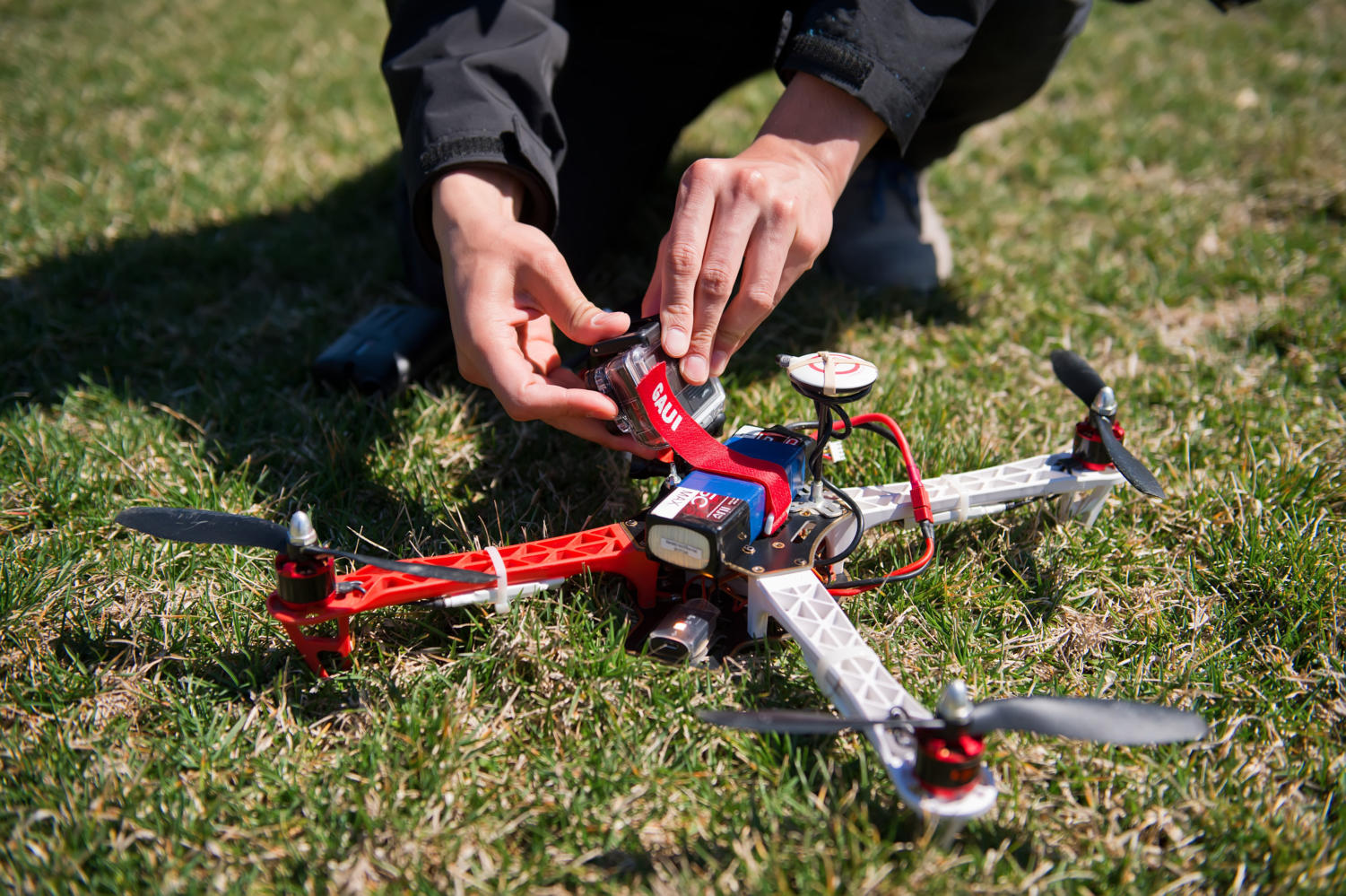 Students will train to use drones such as this, which they will be able to use to find a job (David Eulitt/Tribune News Service).