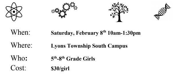GEMS hosts STEM event  for middle school girls