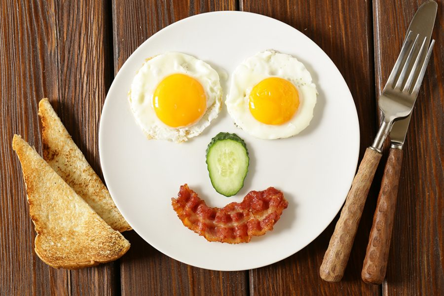 Breakfast+made+into+a+smiley+face+%28courtesy+of+Health+Beat%29.