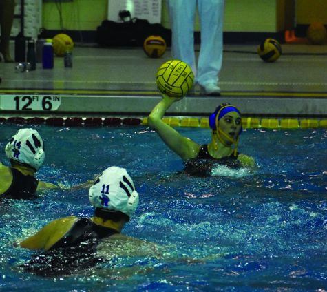 Girls water polo continues to develop skills despite conditions