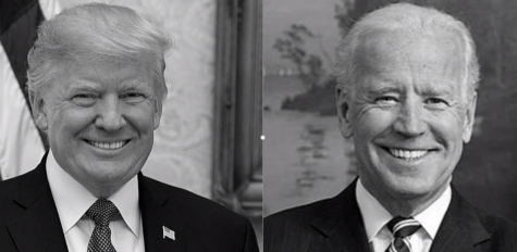 President Donald Trump on the left. Former Vice President Joe Biden on the right. (Creative Commons)