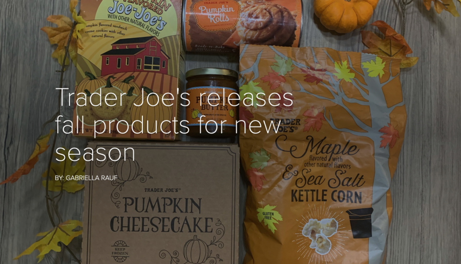 Trader Joe's releases fall products for new season