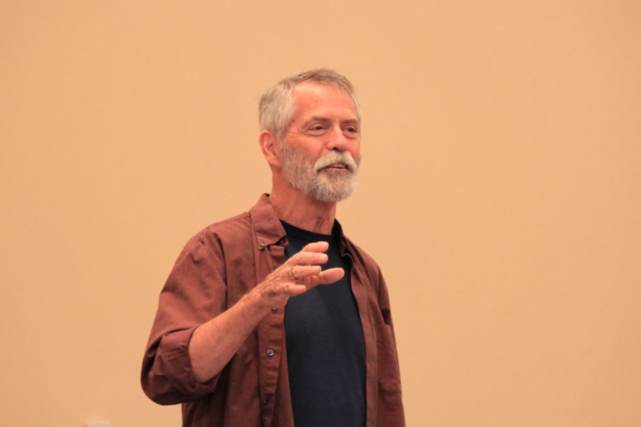 """""""Chris Crutcher at BCPL_4001"""" by ALA - The American Library Association is licensed with CC BY-NC-SA 2.0."""