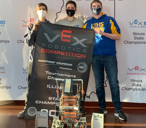 Robotics team takes first place win in state