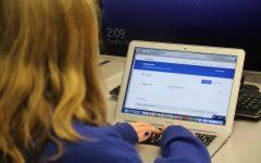 Student prepares for 2021 AP digital exams (McLean/LION).