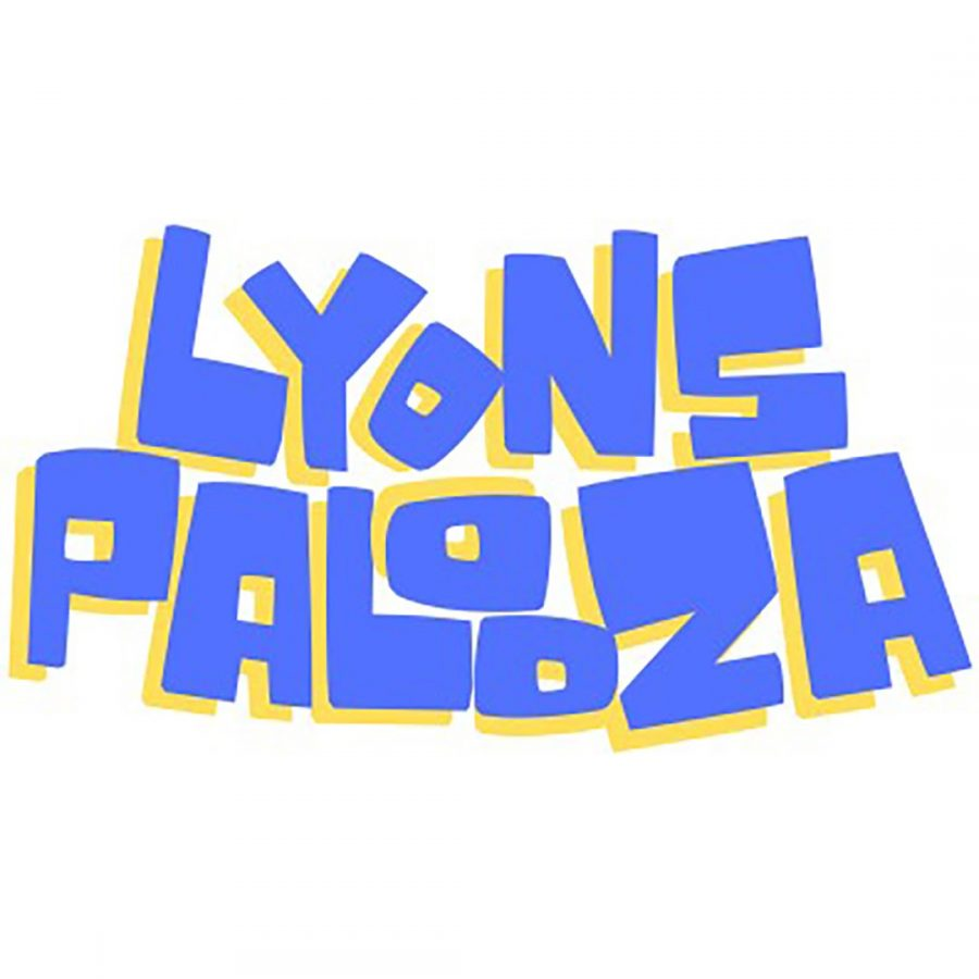 Lyonspalooza logo (phot courtesy of Peter Geddeis).