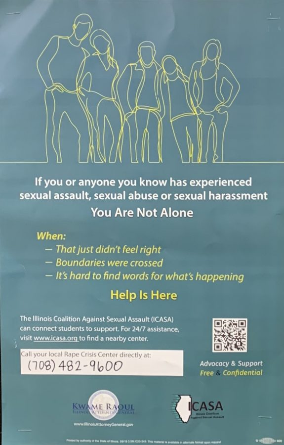 Students, staff converse about sexual assault