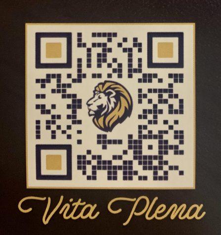 QR code to scan to download Passport app.