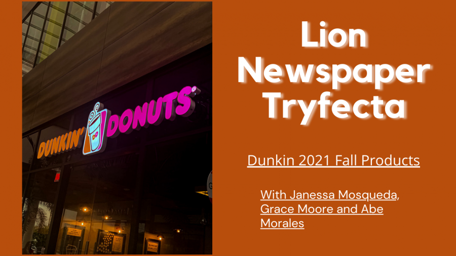 Tryfecta Dunkin Donuts Fall Line Review
