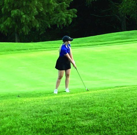 Girls varsity golf starts season off strong