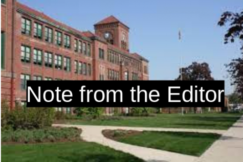 Editors note regarding homecoming story