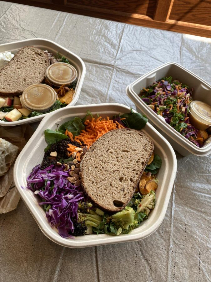 One of Sweetgreens popular dishes is the Harvest Bowl (McLean/LION).